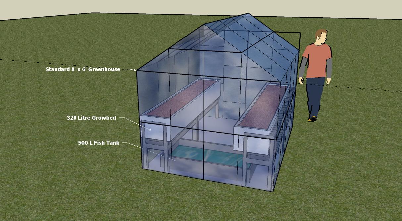 Backyard Nursery System : Basic Greenhouse Aquaponic System  Garden Aquaponics in the UK