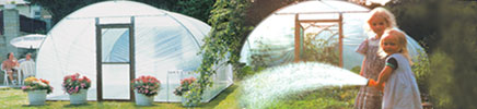 Polytunnel for aquaponics